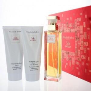 Elizabeth Arden 5th Avenue 75ml EDP Gift Set Bdy Ltn 100ml + Hydrating Cleanser